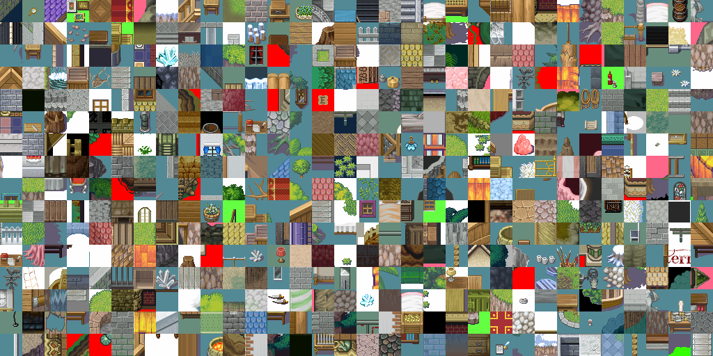 2D map tiles with GANs